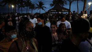 Miami Beachte olağanüstü hal ilan edildi