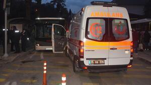 Tepkiyi hazmedemedi İzmirde belediye otobüsünde dehşeti yaşattı