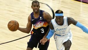 NBAde Gecenin Sonuçları: Chris Paul rekor kırdı, Sunstan Lakersa 17 sayı fark