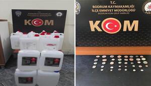 Muğlada sahte içki ve kaçakçılık operasyonunda yakalanan 7 zanlı tutuklandı