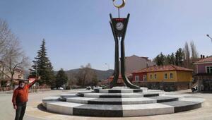 Çameliye ay-yıldızlı saat kulesi yapıldı