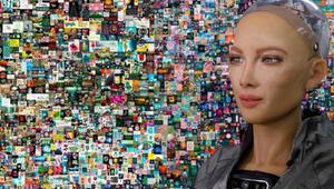 NFT çılgınlığı hız kesmiyor: Robot Sophia tarihe geçti