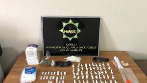 Çorluda uyuşturucu operasyonu: 4 gözaltı