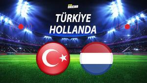 Türkiye Hollanda maçı ne zaman oynanacak