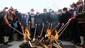 Başkent'te Nevruz ateşi