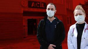 Bartında yğun bakıma yatırılacak babasına su içirmemesi için uyaran doktorlara saldırdı