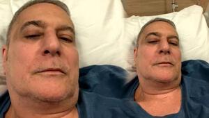 Mehmet Ali Erbil hastanede... 16 şişe serum alıyorum