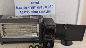 Besnide hırsızlık şüphelisi tutuklandı