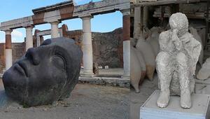 Pompeii kentinde tüm yaşam 15 dakika içinde son bulmuş