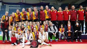 Galatasaray HDI Sigorta, CEV Kupasında ikinci oldu
