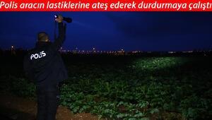 Adanada film gibi kovalamaca patates tarlasında bitti