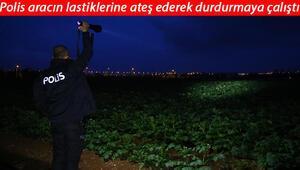 Adanada 30 kilometrelik kovalamaca patates tarlasında bitti