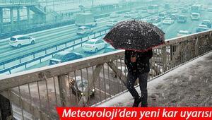 İstanbul ve Ankarada ayında kar yağışı