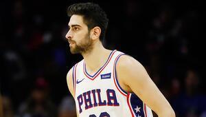 NBAde Gecenin Sonuçları: Furkan Korkmazın 12 sayı attığı maçta 76ers galip