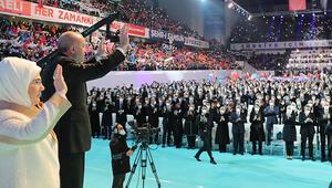 İşte AK Partinin 7. Olağan Büyük Kongresinde dakika dakika yaşananlar...