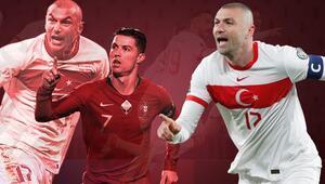 Burak Yılmazın Türkiye-Hollanda maçında attığı gol olay oldu Cristiano Ronaldoyu geride bıraktı