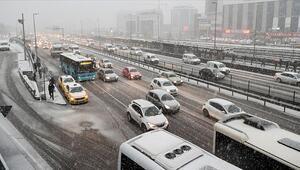 İstanbulda bugün kar yağacak mı İşte kar yağışında son durum