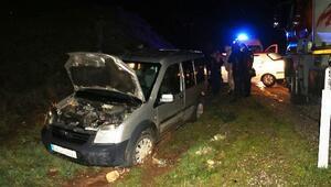 Kahtada zincirleme kaza: 2 yaralı