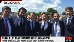 Macronun sınıf arkadaşı Paris Büyükelçisi ilk kez konuştu: En güzel yanıtı Türkiye ve Yunanistan verdi