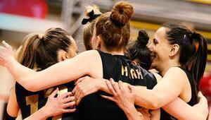 VakıfBankta CEV Şampiyonlar Ligi finaline yükselme sevinci