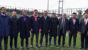 Yenilenen Beylerbeyi Stadı, Bakan Kasapoğlunun katılımıyla açıldı