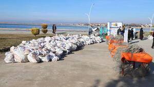 Beyşehir Gölünde hayalet ağı temizliği