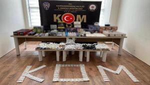 Kahramanmaraşta kaçakçılık operasyonu: 2 gözaltı