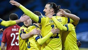 Zlatan Ibrahimovic geri döndü, İsveç tek golle kazandı