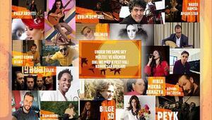 Mülteci müzisyenlerden çevrim içi festival