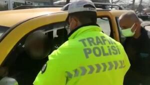 Sivil polis, müşteri gibi korsan taksiye bindi, sürücüye 8 bin 349 lira ceza verildi