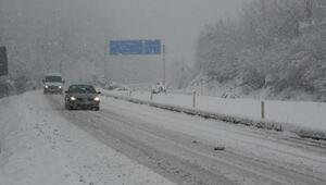 Bartın'da kar nedeniyle 19 köy yolu ulaşıma kapandı