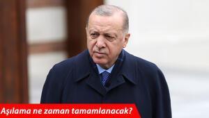 Son dakika... Aşılama ne zaman tamamlanacak Cumhurbaşkanı Erdoğan yaptığı son görüşmeyi anlattı