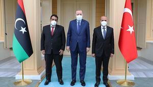 Cumhurbaşkanı Erdoğan, Libya Heyetini kabul etti