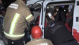 Süt tankerine çarptı, 40 metre sürüklendi Acı haber: 1 ölü, 2 ağır yaralı