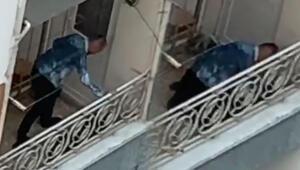 Trabzonda balkondaki skandal görüntüde flaş gelişme Davada karar verildi