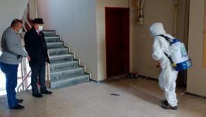 Keşan Kaymakamı Yılmaz, dezenfekte çalışmalarını inceledi