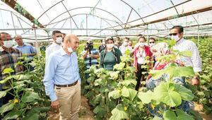Çiftçi doğduğu yerde doyacak kentli sağlıklı gıdaya ulaşacak