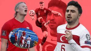 Norveç-Türkiye maçında Ozan Tufan golünü attı, sosyal medya yıkıldı Milli takımda bir ilk, Alexander Sörloth...