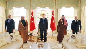 Vahdettin Köşkü'ne Katardan konuk