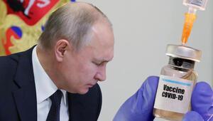 Koronavirüs aşısı olan Putinden ilk açıklama