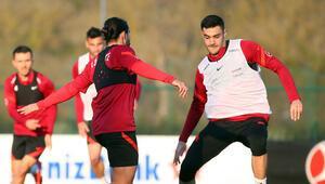 A Milli Futbol Takımında Letonya maçı hazırlıkları başladı