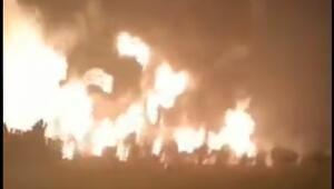 Son dakika haberi: Endonezyada petrol rafinesinde şiddetli patlama