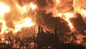 Endonezya'da petrol rafinerisindeki patlamada 20 kişi yaralandı