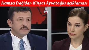 Hamza Dağdan Kürşat Ayvatoğlu açıklaması: Yakın ekibimde değil, arkadaşları şantaj yapmış