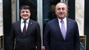 Bakan Çavuşoğlu, Tacikistan Sanayi ve Yeni Teknolojiler Bakanı ile görüştü