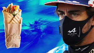 Formula 1de Fernando Alonsonun büyük şansızlığı Bir sandviç yüzünden...