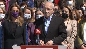 CHP Genel Başkanı Kılıçdaroğlu: Kadınların mücadelesi önemlidir, değerlidir