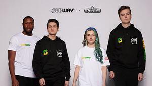 Subway ve Guild Esportstan İş Birliği
