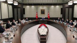 Ankarada kabine toplantısı başladı
