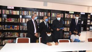 Keşan Belediye Kütüphanesi hizmete açıldı